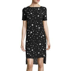 Belle Sky Starlet Black Dress w/ White Stars XS